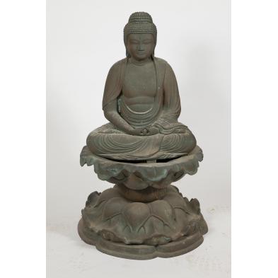 japanese-19th-century-bronze-amida-buddha