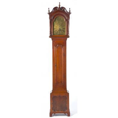 important-north-carolina-tall-case-clock