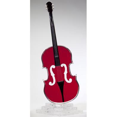 shlomi-haziza-ca-acrylic-cello-sculpture