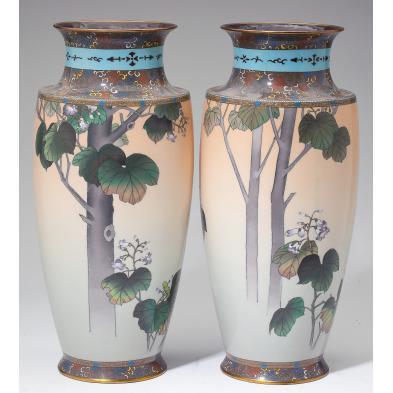 pair-of-japanese-cloisonne-vases-namikawa-sosuke