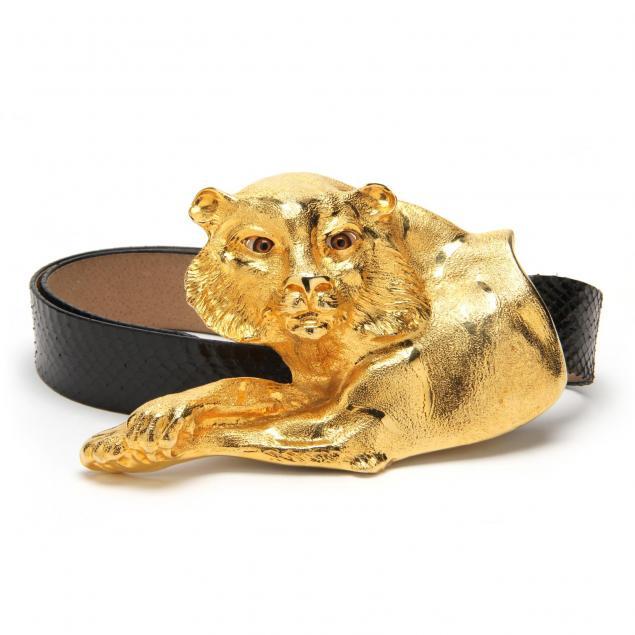vintage-tiger-belt-buckle-christopher-ross