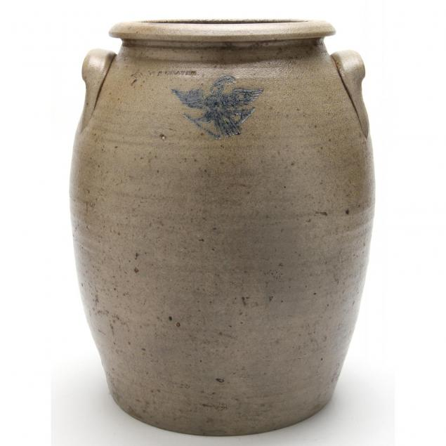rare-north-carolina-pottery-crock-w-n-craven