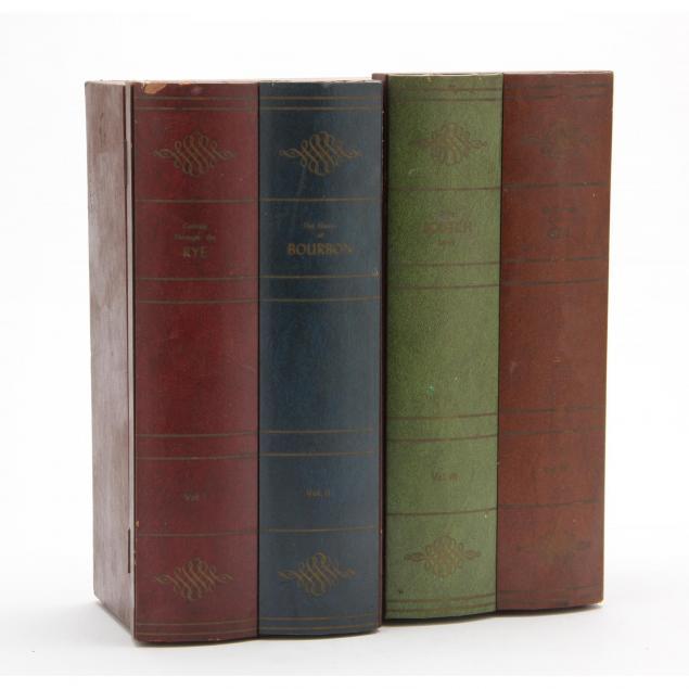 mid-century-faux-book-bar-set