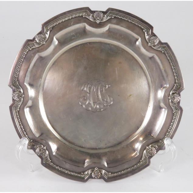 black-starr-frost-sterling-silver-bread-plate