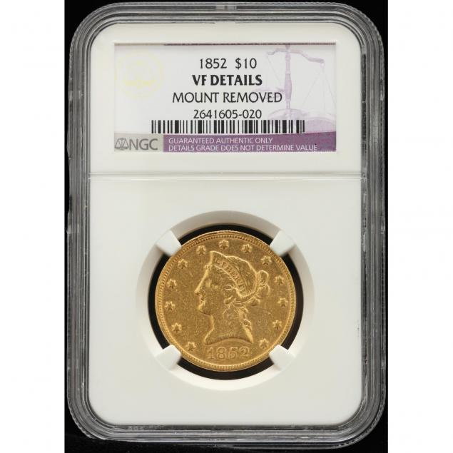 1852-10-gold-liberty-head-eagle