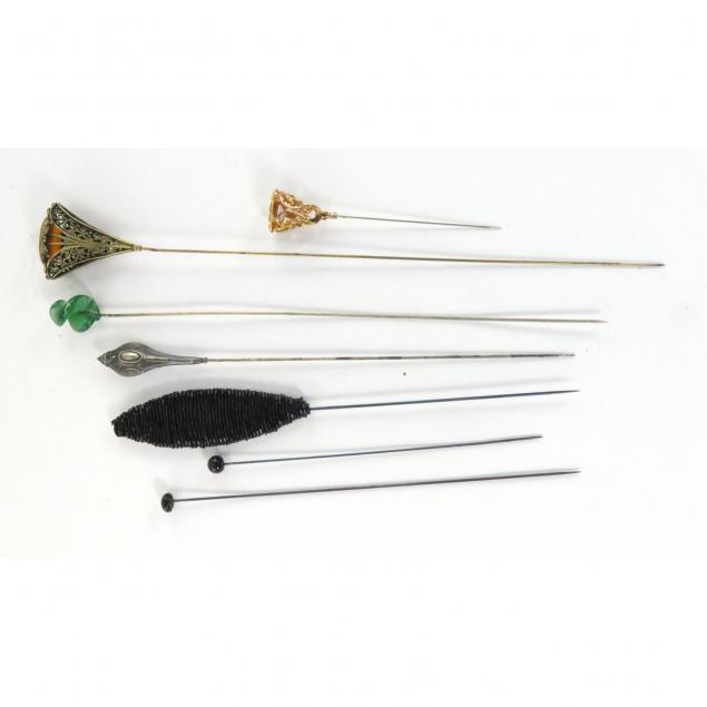 group-of-seven-vintage-hatpins