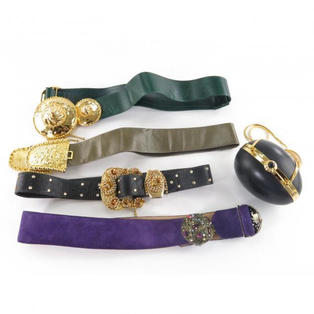 group-of-designer-four-belts