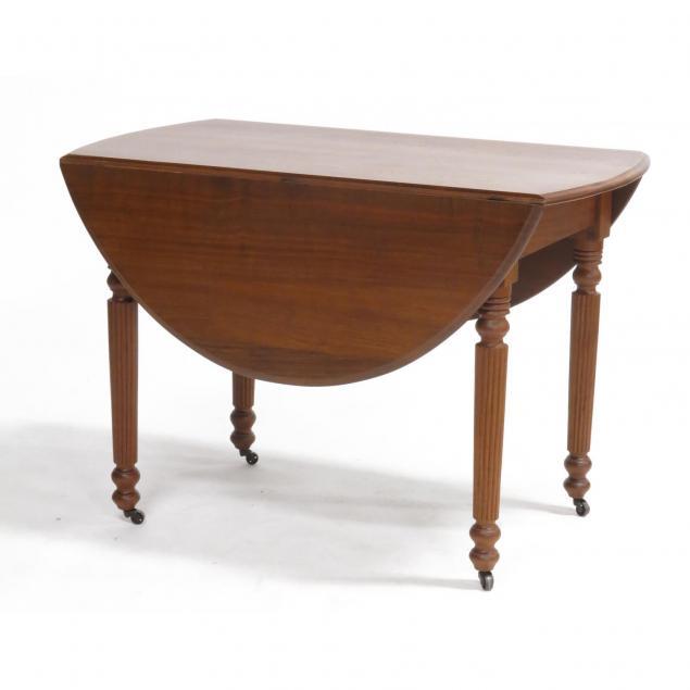 victorian-oak-drop-leaf-table