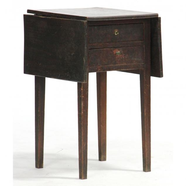 american-grain-painted-two-drawer-work-table