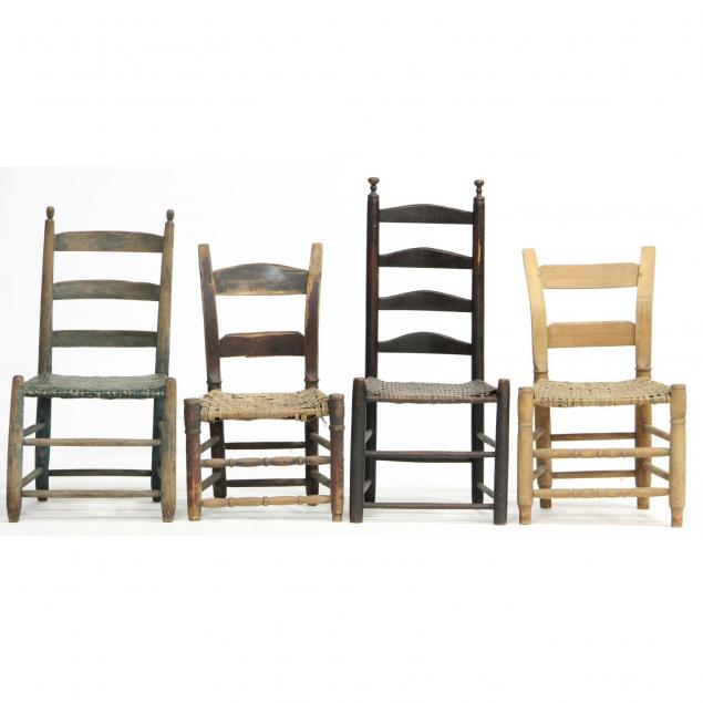 group-of-american-country-rush-seat-chairs