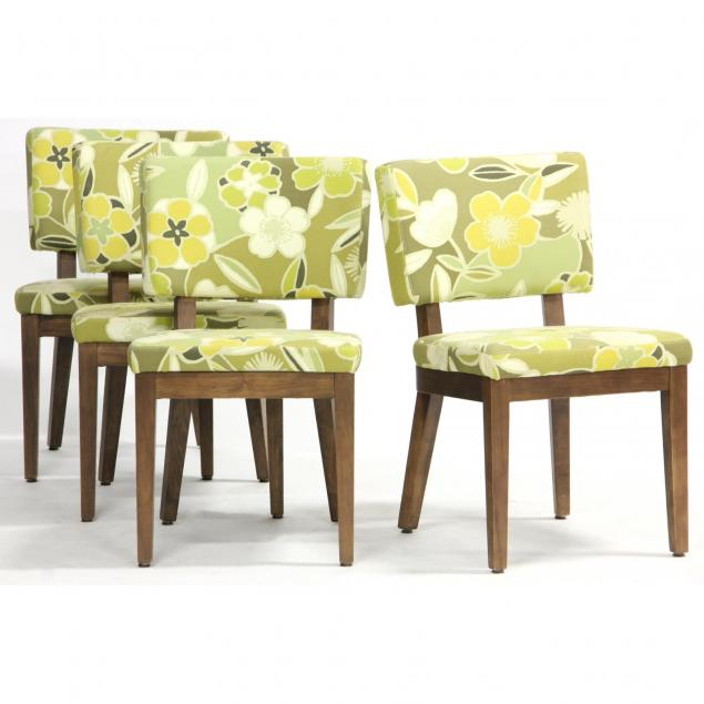 four-contemporary-upholstered-chairs