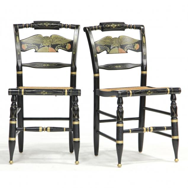 pair-of-ethan-allen-hitchcock-style-chairs