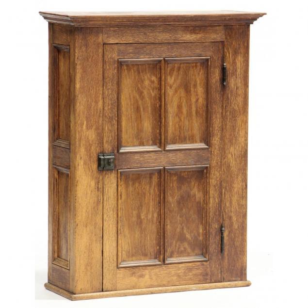 antique-oak-hanging-cupboard