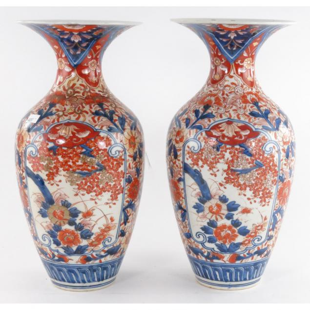 pair-of-large-japanese-imari-vases