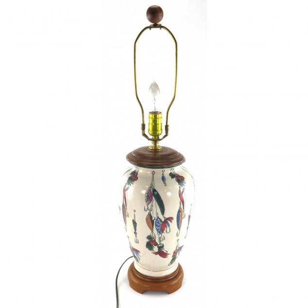 bob-timberlake-fishing-lure-table-lamp