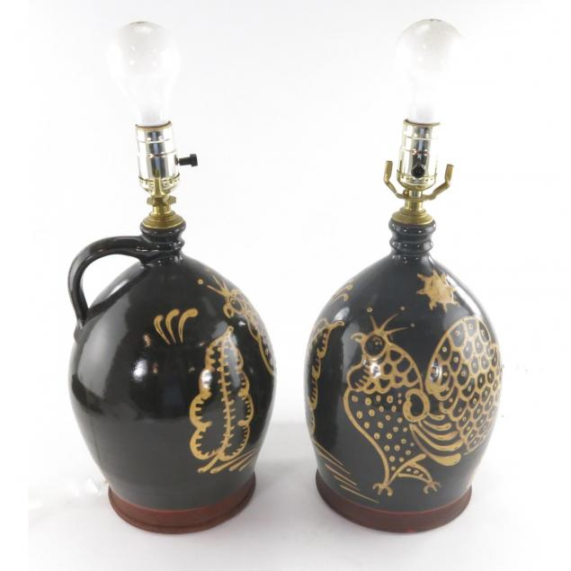 pair-of-wisconsin-pottery-table-lamps