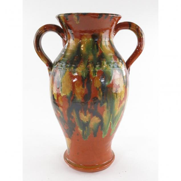 joe-owen-multi-glazed-double-handled-vase