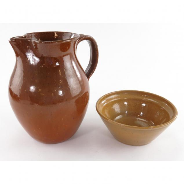 two-pieces-of-jugtown-pottery