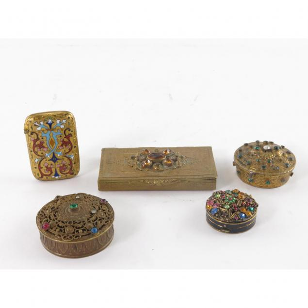 group-of-decorated-metal-boxes