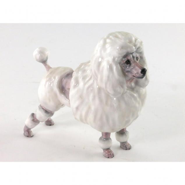 royal-doulton-porcelain-poodle