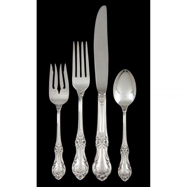 international-wild-rose-sterling-silver-flatware-service