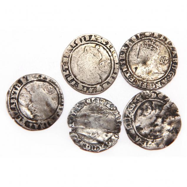 england-elizabeth-i-five-5-hammered-silver-shillings