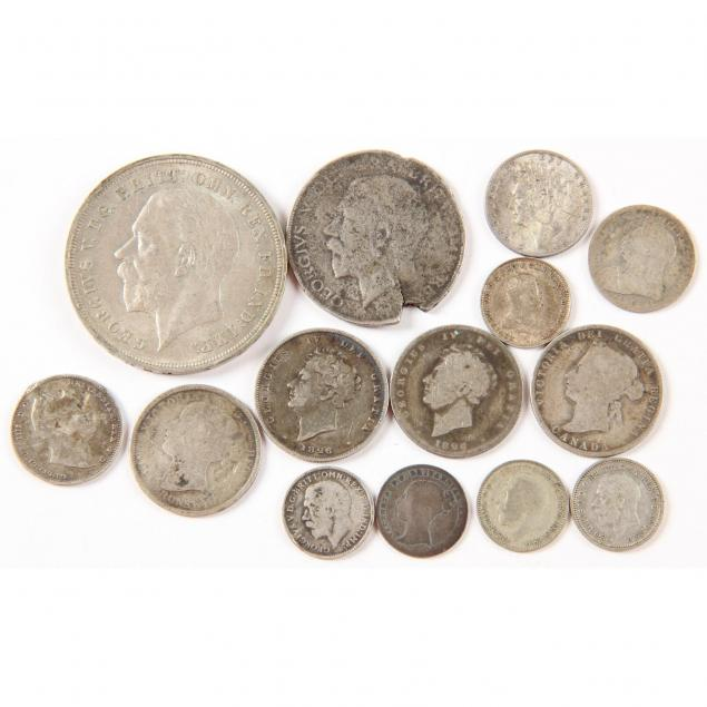 british-commenwealth-13-19th-and-20th-century-silver-coins