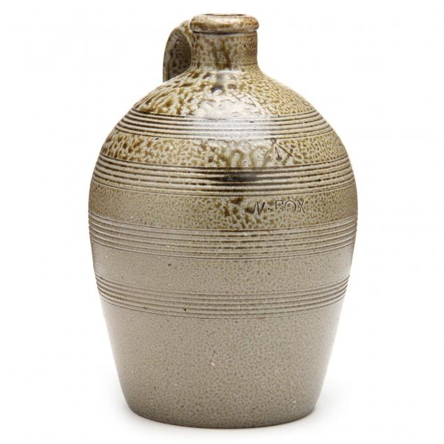 stoneware-jug-nicholas-fox-chatham-co-nc-1797-1858