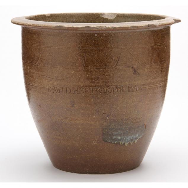 nc-pottery-storage-crock-david-hartzog-1808-1883-lincoln-county