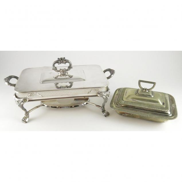 two-silver-plate-serving-dishes