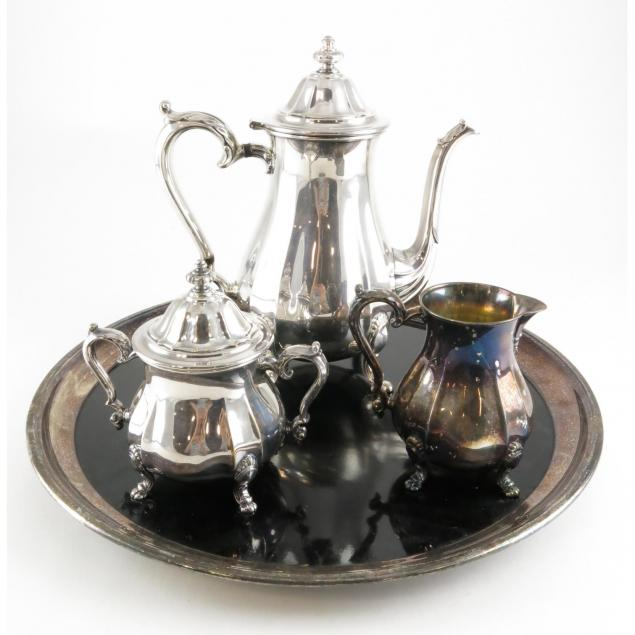 chippendale-pattern-three-piece-silver-plate-tea-set