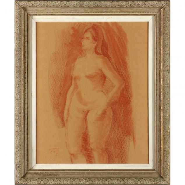 raphael-soyer-ny-1899-1987-female-nude