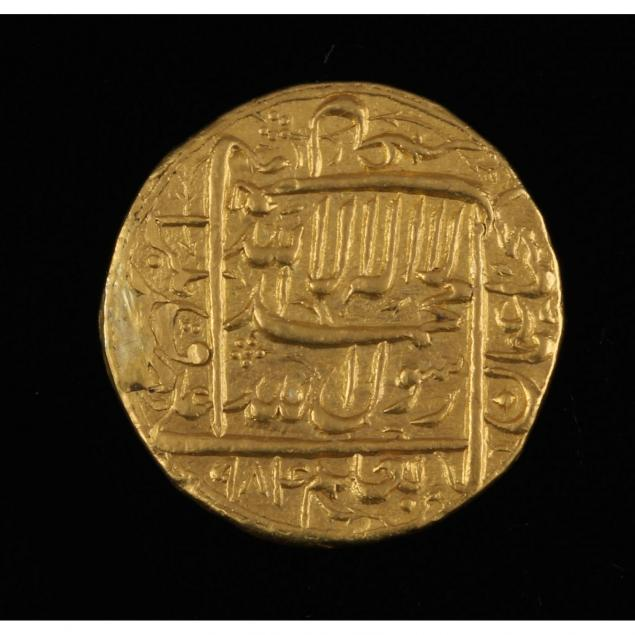india-mughal-empire-gold-mohur