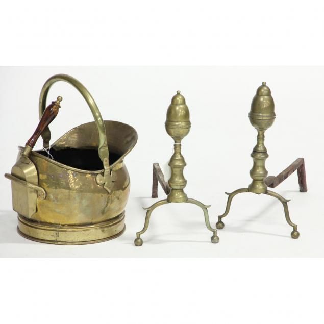 coal-scuttle-and-andirons