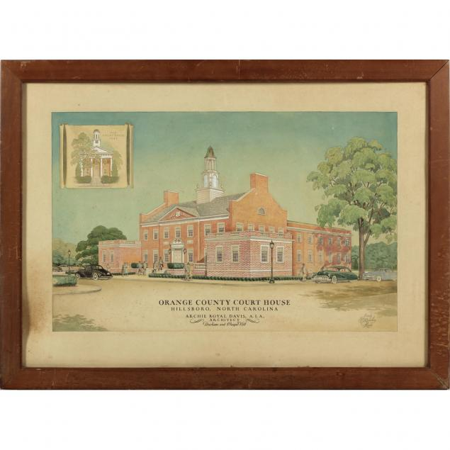 orange-county-court-house-architectural-drawing