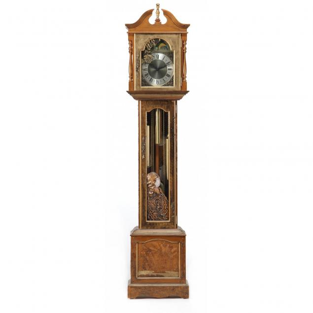 stephen-white-nc-painted-tall-case-clock