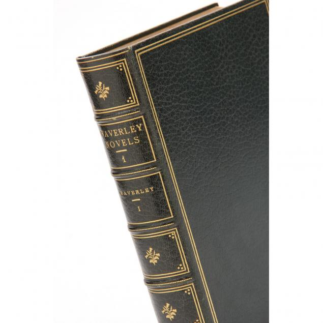 deluxe-limited-edition-of-walter-scott-s-waverly-novels-in-51-volumes