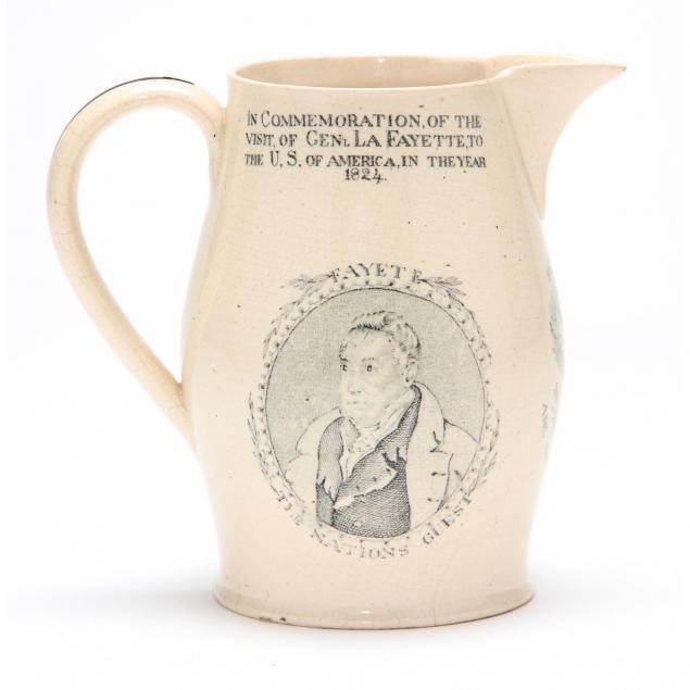 english-cream-jug-with-lafayette-franklin