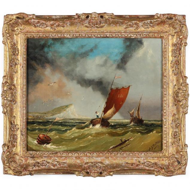 a-j-d-bates-english-19th-century-beachy-head