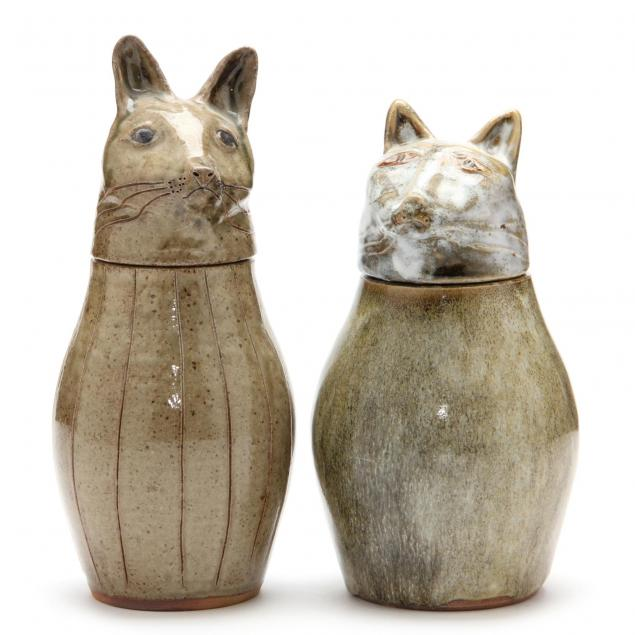 nc-folk-pottery-pamela-owens-two-figural-canisters