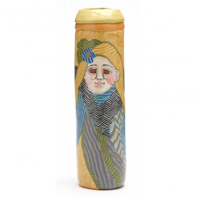 nc-pottery-jane-peiser-tall-vase