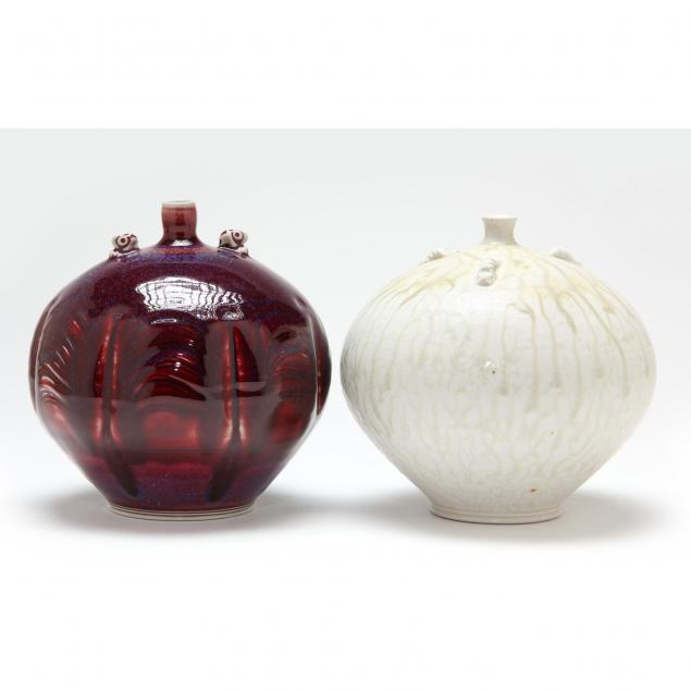 nc-art-pottery-tom-turner-two-pieces