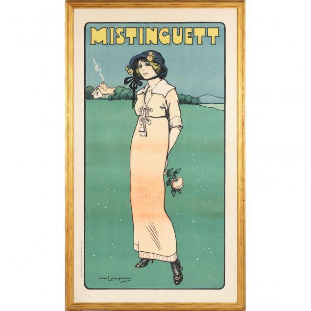 daniel-de-losques-french-1880-1915-mistinguett-poster