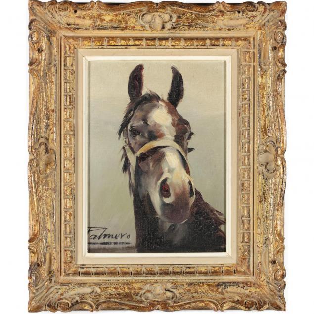 alfredo-palmero-de-gregorio-spanish-1901-1991-study-of-a-horse