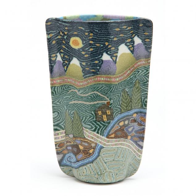 nc-art-pottery-jane-peiser-angular-vase