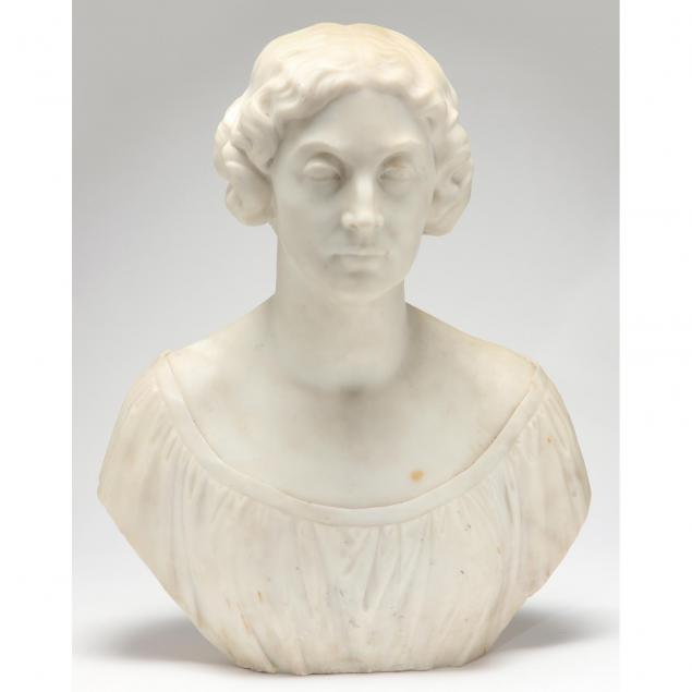 american-school-marble-bust-of-a-woman
