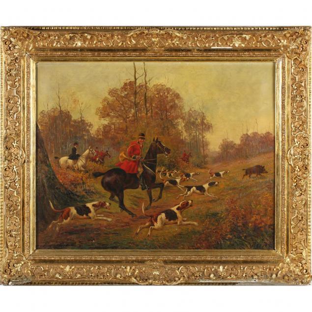 walter-reeves-br-fl-1882-1900-boar-hunting