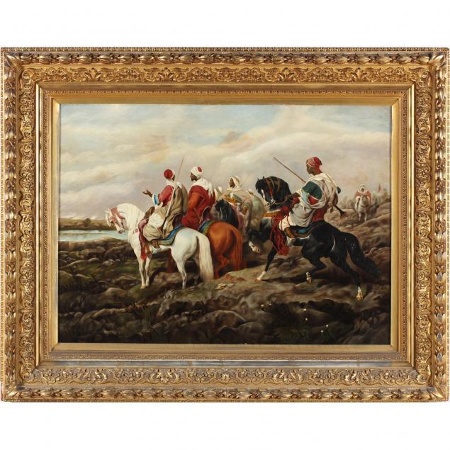 american-school-arabians-on-horseback-19th-century
