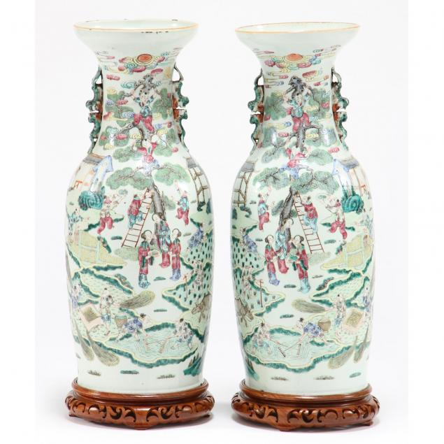 pair-of-chinese-famille-rose-floor-vases
