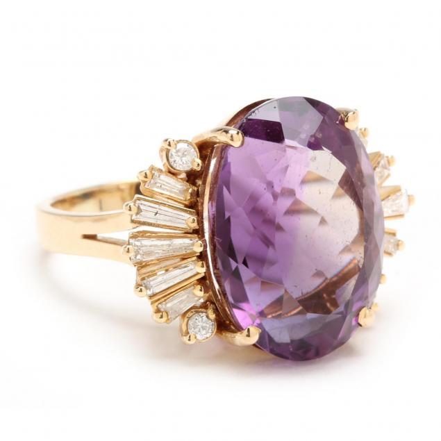 14kt-amethyst-and-diamond-ring